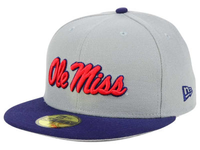 Ole Miss Rebels New Era NCAA Grayson 59FIFTY Cap