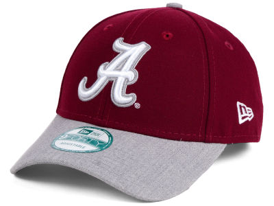 Alabama Crimson Tide New Era NCAA Heathered 9FORTY Cap