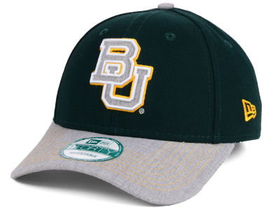 Baylor Bears New Era NCAA Heathered 9FORTY Cap