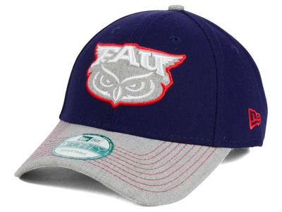 Florida Atlantic Owls New Era NCAA Heathered 9FORTY Cap