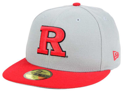 Rutgers Scarlet Knights New Era NCAA Grayson 59FIFTY Cap