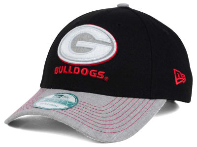 Georgia Bulldogs New Era NCAA Heathered 9FORTY Cap