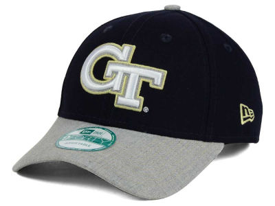 Georgia-Tech New Era NCAA Heathered 9FORTY Cap