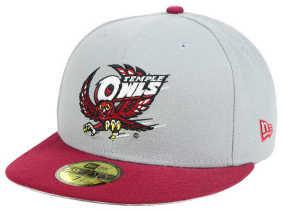 Temple Owls New Era NCAA Grayson 59FIFTY Cap