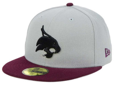 Texas State Bobcats New Era NCAA Grayson 59FIFTY Cap