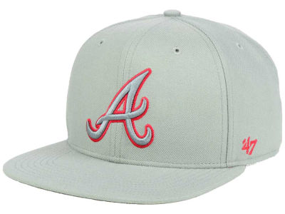 Atlanta Braves '47 MLB No Shot Tonal '47 CAPTAIN Cap