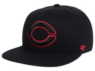 Cincinnati Reds '47 MLB No Shot Tonal '47 CAPTAIN Cap