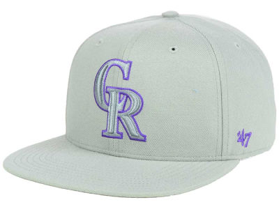 Colorado Rockies '47 MLB No Shot Tonal '47 CAPTAIN Cap