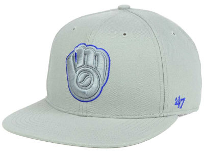 Milwaukee Brewers '47 MLB No Shot Tonal '47 CAPTAIN Cap