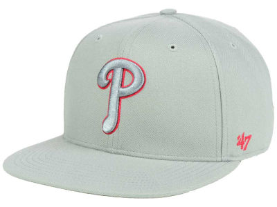 Philadelphia Phillies '47 MLB No Shot Tonal '47 CAPTAIN Cap