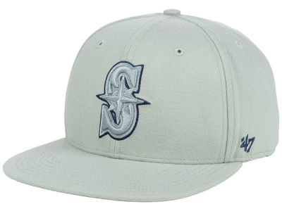 Seattle Mariners '47 MLB No Shot Tonal '47 CAPTAIN Cap