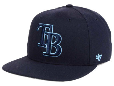Tampa Bay Rays '47 MLB No Shot Tonal '47 CAPTAIN Cap