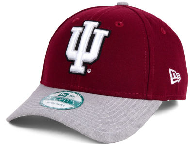 Indiana Hoosiers New Era NCAA Heathered 9FORTY Cap
