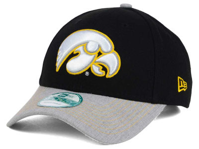 Iowa Hawkeyes New Era NCAA Heathered 9FORTY Cap