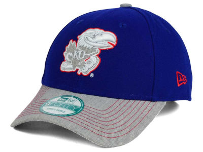 Kansas Jayhawks New Era NCAA Heathered 9FORTY Cap