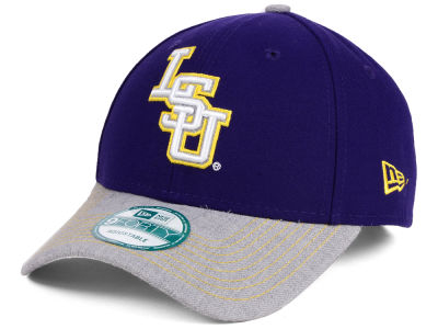 LSU Tigers New Era NCAA Heathered 9FORTY Cap
