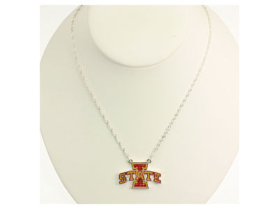 Iowa State Cyclones Crystal Necklace