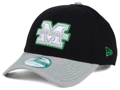 Marshall Thundering Herd New Era NCAA Heathered 9FORTY Cap
