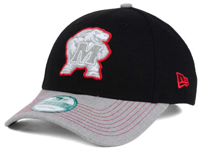 Maryland Terrapins New Era NCAA Heathered 9FORTY Cap