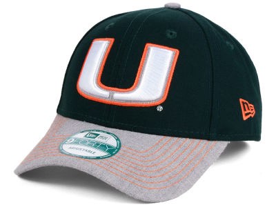 Miami Hurricanes New Era NCAA Heathered 9FORTY Cap