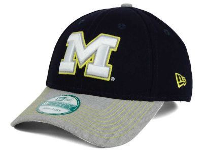Michigan Wolverines New Era NCAA Heathered 9FORTY Cap