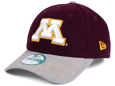 Minnesota Golden Gophers New Era NCAA Heathered 9FORTY Cap