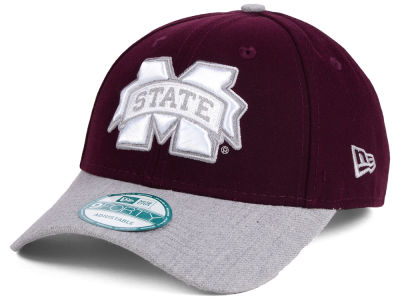 Mississippi State Bulldogs New Era NCAA Heathered 9FORTY Cap