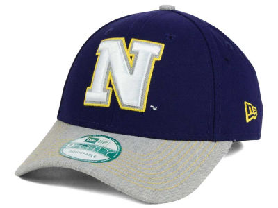 Navy Midshipmen New Era NCAA Heathered 9FORTY Cap