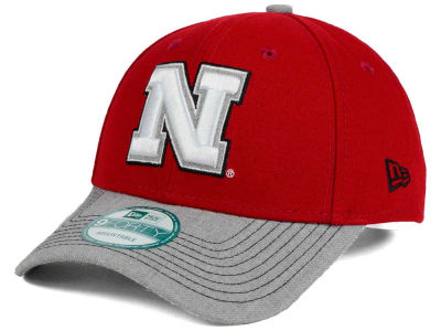 Nebraska Cornhuskers New Era NCAA Heathered 9FORTY Cap