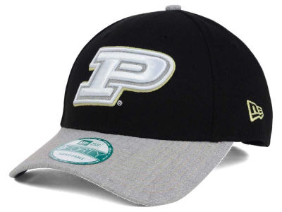 Purdue Boilermakers New Era NCAA Heathered 9FORTY Cap
