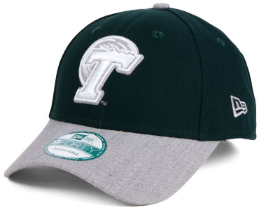 Tulane Green Wave New Era NCAA Heathered 9FORTY Cap
