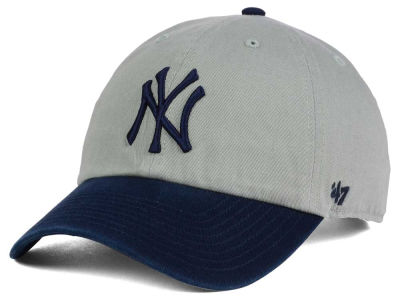 New York Yankees '47 MLB Gray 2-Tone '47 CLEAN UP Cap