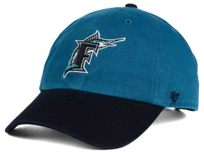 Florida Marlins '47 MLB Cooperstown '47 CLEAN UP Cap