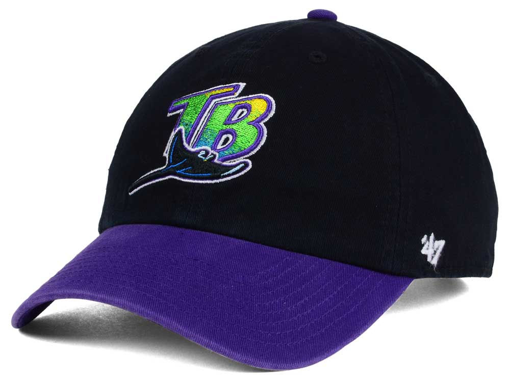 Tampa Bay Rays  47 MLB Cooperstown  47 CLEAN UP Cap  54796996c