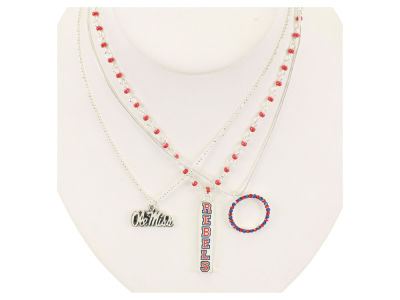 Ole Miss Rebels Trio Necklace Set