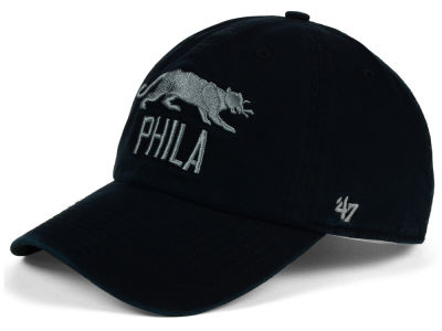 Philadelphia Panthers '47 Black Fives Collection '47 CLEAN UP Cap