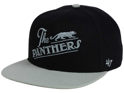 Philadelphia Panthers '47 Black Fives Team '47 CAPTAIN Cap