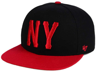 New York Incorporators '47 Black Fives Team '47 CAPTAIN Cap