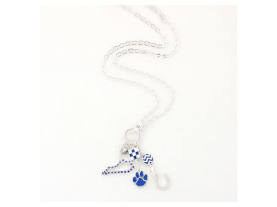 Kentucky Wildcats State Cluster Necklace