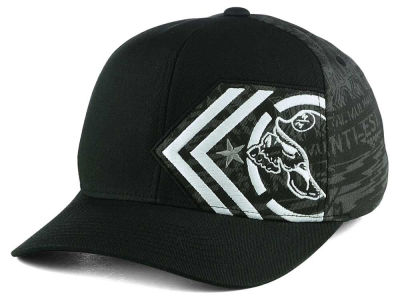 Metal Mulisha Custom Curved Camo Flex Cap