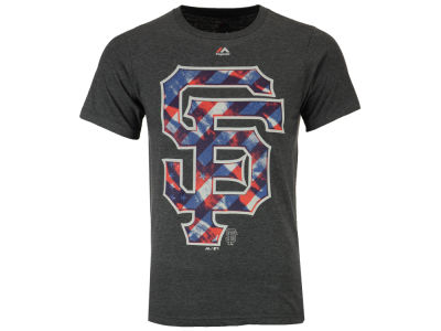 San Francisco Giants MLB Men's Spirited Stripes T-Shirt