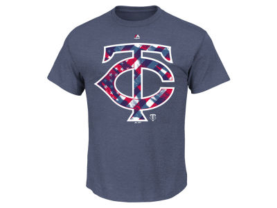 Minnesota Twins MLB Men's Spirited Stripes T-Shirt