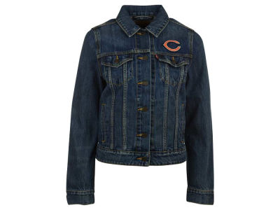 Chicago Bears NFL Women's Denim Trucker Jacket