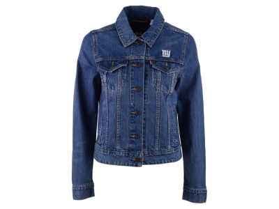 New York Giants NFL Women's Denim Trucker Jacket