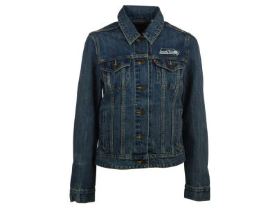Seattle Seahawks NFL Women's Denim Trucker Jacket