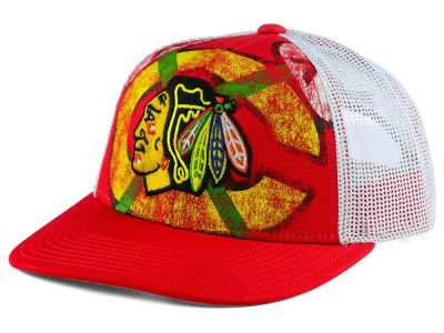 Chicago Blackhawks Reebok NHL Structured Adjustable Cap