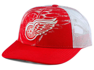 Detroit Red Wings Reebok NHL Structured Adjustable Cap