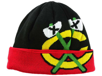 Chicago Blackhawks Reebok NHL Cuffed Beanie