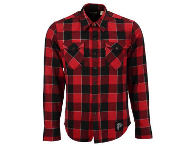 Atlanta Falcons NFL Plaid Barstow Western Top