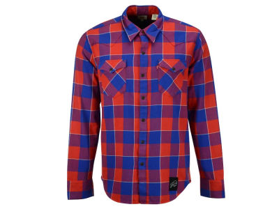 Buffalo Bills NFL Plaid Barstow Western Top